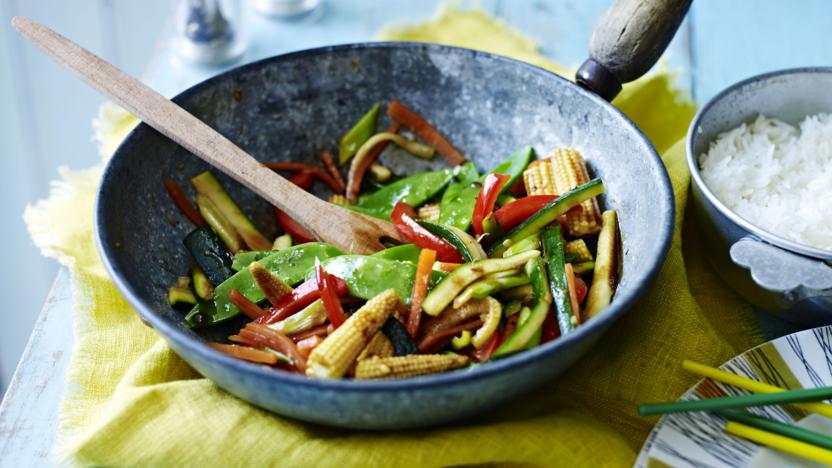 Christmas Stir Fry Recipe