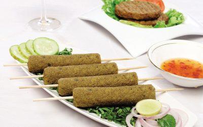 Veg Soya Seekh Kebab