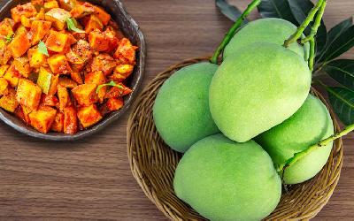 Instant Raw Mango Pickle (Achaar) Ready In Just 10 Min!